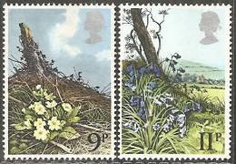 Gran Bretagna 1979 Usato - Mi. 785; 787 - 1952-.... (Elisabetta II)