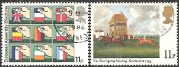 Gran Bretagna 1979 Usato - Mi. 791; 795 - 1952-.... (Elisabetta II)
