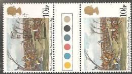Gran Bretagna 1979 Usato - Mi. 794 Coppia - Usati