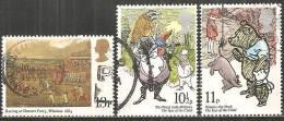 Gran Bretagna 1979 Usato - Mi. 796; 798/99 - 1952-.... (Elisabetta II)