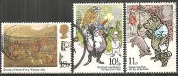 Gran Bretagna 1979 Usato - Mi. 796; 798/99 - Usati