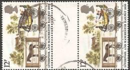 Gran Bretagna 1980 Usato - Mi. 833 Coppia - 1952-.... (Elizabeth II)