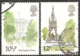 Gran Bretagna 1980 Usato - Mi. 836/37 - 1952-.... (Elizabeth II)
