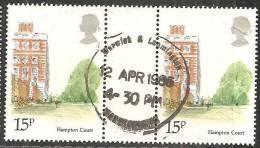 Gran Bretagna 1980 Usato - Mi. 839 Coppia - 1952-.... (Elisabetta II)