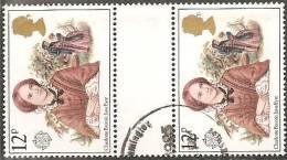 Gran Bretagna 1980 Usato - Mi. 841 Coppia - 1952-.... (Elisabetta II)