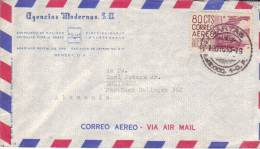 Lettre De Mexico à Solingen (Allemagne) Du 10 Dec 1953 Avec Timbre 80 Cts Correo Aereo - Mexique