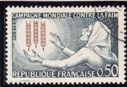 FRANCE    1963  Y.T. N° 1379  Oblitéré  Avec Gomme D'origine - Gebruikt