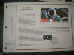 6444 VOL SPATIAL FRANCO SOVIETIQUE  2571 - Europe