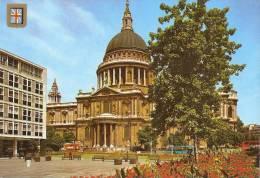 *REGNO UNITO - INGHILTERRA: LONDON* - Cartolina NUOVA - St. Paul's Cathedral