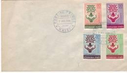 FDC Année Des Réfugiés, Port Au Prince, 7 Avr 1960 - Haïti