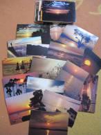 40 Cartes Neuves ( Coucher De Soleil) Pas Ce Double. - Cartes Postales