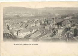 BELFORT--VUE GENERALE PRISE DU CHATEAU...CARTE NON ECRITE.. - Belfort - City