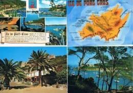 230213D Lot De 14 CPM Couleur Vierges Pour Courrier: Dep.83 (Var) : Port Cros - Cartes Postales