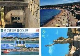 230213F Lot De 19 CPM Couleur Vierges Pour Courrier: Dep.83 (Var) : Saint Cyr - Cartes Postales
