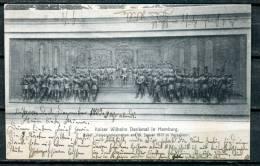 "S/w CPA   AK German Empires,DR Hamburg 1903""Kaiser Wilhelm Denkmal In Hamburg;Kaiserproklamation "" 1AK - Monuments"