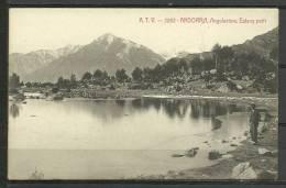ANDORRA- POSTAL A.T.V.-2282- ANDORRA,- ANGULASTERS, ESTAÑY PETIT.(I.39) - Andorra