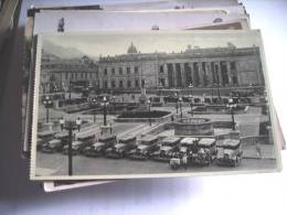 Colombia BogotaCapitolio Nacional And Old Cars - Colombia