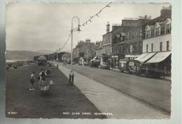 BELLA CARTOLINA  WEST CLYDE STREET HELENSBURGH PERSONE E CAMION 1956 SPEDITA - Argyllshire