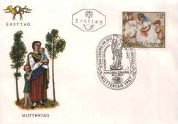 Österreich / Austria - Mi-Nr 1237 FDC (L474) - Muttertag