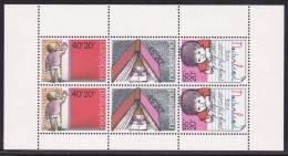Nederland  NVPH Nr. 1171 Kinderzegels, Child And Learning  Block  MNH - Bloques