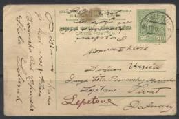 AK KINGDOM SHS-postal Stationery-Sibenik To Tivat-1926 - Postal Stationery