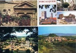 230213U Lot De 15 CPM Couleurvierges Pour Courrier  : Dep.04 (Alpes De Provence) : Forcalquier - Cartes Postales