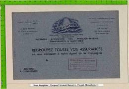 BUVARD : Regroupez Toutes Vos Assurances L´EUROPE (Gris ) - Bank & Insurance