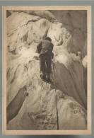 Vecchia Cartolina Di  Sport Alpinismo Alpinista In Scalata - Alpinisme