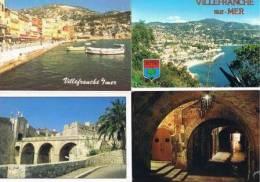 240213E Lot De 25 CPM Couleur Vierges : Dep.06 (Alpes Maritimes) : VilleFranche - Cartes Postales