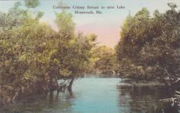 Maine Monmouth Cobbossee Colony Stream To Next Lake Albertype