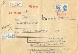 Omslag Met Postzegels CCCP - Lettres & Documents