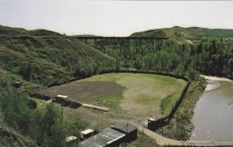 Panoramic View Showing The Twelve Foot Davis Ball Park,  Alberta,  Peace River,  Canada,  40-60s - Alberta