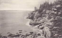 Maine Harbor Region Squirrel Island Boothday Albertype