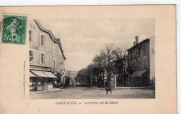 "AMBERIEU "" Avenue De La Gare"" - Otros Municipios"