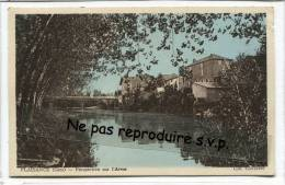 - PLAISANCE - ( Gers ) - Perspective Sur L'Arros, Splendide, écrite, De La Couleur, Marianne De 2F,TBE, Scans. - France