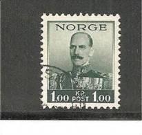 NorMi.Nr.191 / König   Haakon 1938 O - Gebraucht