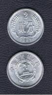 CHINA -  2 Fen  KM2  (ver Años Disponibles) - China