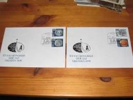 FDC DDR Ersttagsbrief Deutschland Berlin 1990 41. Kongress Der IAF Dresden 1990 - [6] Democratic Republic