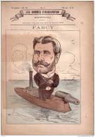 LES HOMMES D´AUJOURD´HUI - N°70 - FARCY - ANDRY FARCY - JOURNALISTE , CRITIQUE , DESSINATEUR ,  CONSERVATEUR - Zeitungen