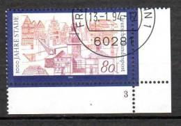 Bund  1709  Gestempelt    Formnummer - BRD