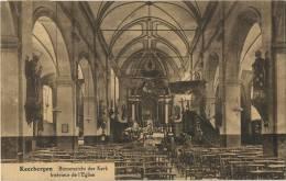 Keerbergen : Binnenzicht Der Kerk  ( Geschreven ) - Keerbergen