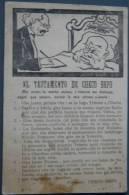 Italian Political Propaganda, El Testamento De Checo Bepo, Franz Josef - Satiriques