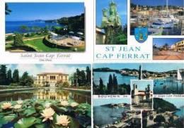 240213G Lot De 35 CPM Couleur Vierges Pour Courrier : Dep.06 (Alpes Maritimes) : Saint Jean Cap Ferrat - Cartes Postales