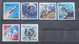 Ajman 1966 Space - Ajman