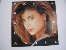 """MAXI -  PAULA ABDUL   - VIRGIN 80490  """" COLD HEARTED """" + 4 - 45 T - Maxi-Single"""