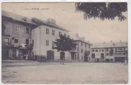 Cpa-74-Boege-La Place-edi : Pittier N°1054 - Boëge