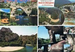 240213O Lot De 140 CPM Couleur Vierges Pour Courrier : Dep.07 (Ardèche) : Gorges De L'Ardeche - Cartes Postales