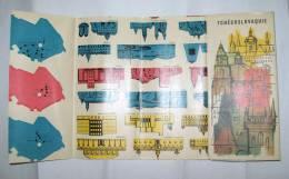 CZECHOSLOVAKIA - Cartes