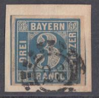 Bayern Minr.2 Gestempelt Offener Mühlradstempel Nr. 28 Augsburg - Bayern