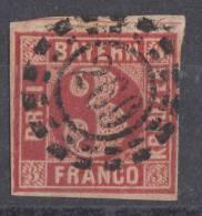Bayern Minr.9 Gestempelt Offener Mühlradstempel Nr. 269 Landshut - Bayern